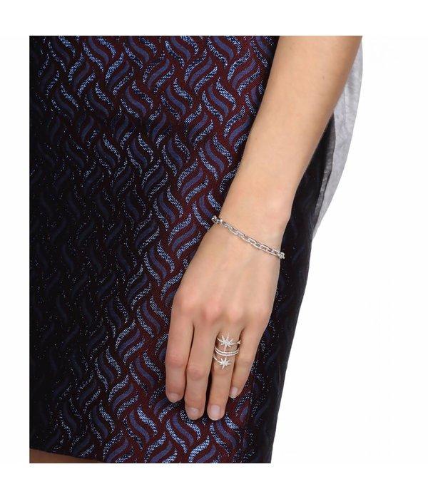 APM MONACO AB3083OX Sublime armband in zilver met kristallen
