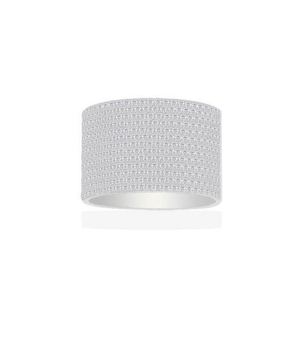 APM MONACO A15763OX Cannes Ring in Silber mit Kristall