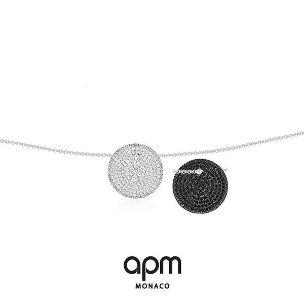 AP10131BZX Luna halsketting