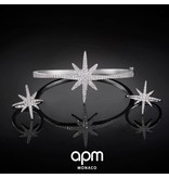 APM MONACO AB2893OX Météorites bracelet en argent 925% avec des cristaux