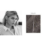 APM MONACO AP10068OX Talisman necklace in silver with crystal