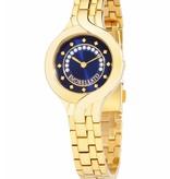 MORELLATO R0153117508 Burano horloge goud kleurig met blauwe wijzerplaat