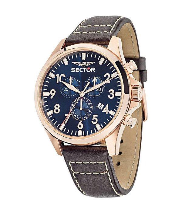 """SECTOR R3271690019 Collectie """"180"""" heren horloge chronograaf"""