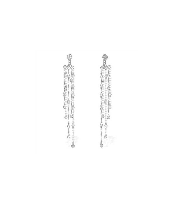APM MONACO AE9190OX Seventies earrings in silver 925% with crystals