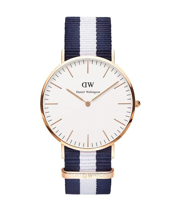 DANIEL WELLINGTON Klassische Glasgow - DW00100004 - watch - nato Band - 40mm
