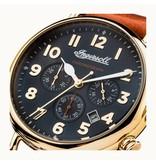 INGERSOLL Die Trenton - I03501 - Uhr - Chronograph - Leder - Gold - 44mm