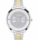 FURLA Metropolis - R4253102515 - watch - gold and silver - 38mm