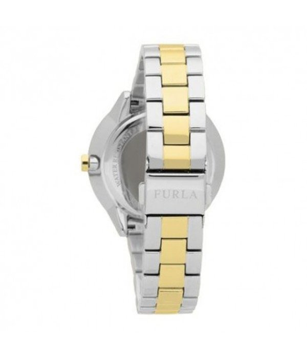 FURLA Metropolis - R4253102515 - watch - gold and silver - 38mm