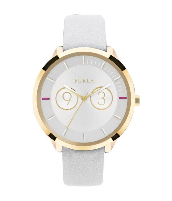 FURLA Metropolis - R4251102503 - watch - leather - gold - 38mm