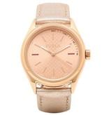 FURLA EVA - R4251101502 - dames horloge - leer - rosékleurig - 35mm