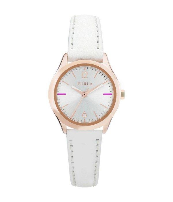 FURLA EVA - R4251101505 - montre - cuir - couleur rose - 25 mm