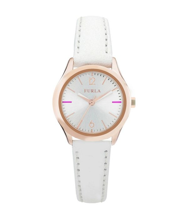 FURLA EVA - R4251101505 - watch - leather - rosé colored - 25mm