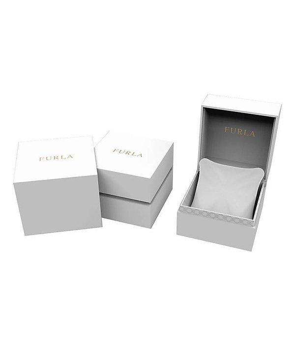 FURLA EVA - R4251101505 - horloge - leer - rosé kleurig - 25mm