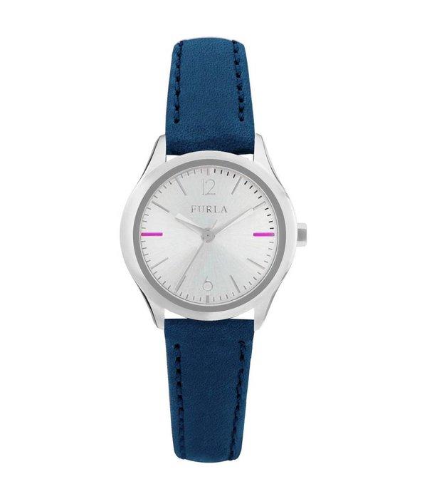 FURLA EVA - R4251101506 - watch - leather - silver - 25mm