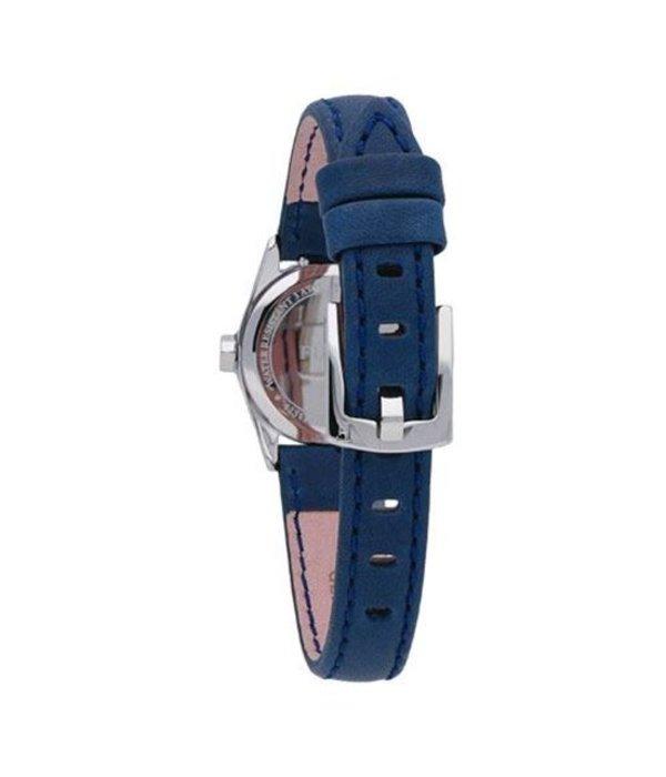 FURLA EVA - R4251101506 - horloge - leer - zilverkleurig - 25mm
