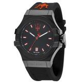 MASERATI  Potenza - R8851108020 - herenhorloge - zwartkleurig - 45mm