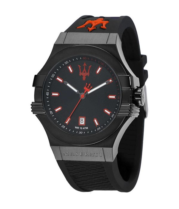MASERATI  Potenza - R8851108020 - mens watch - black color - 45mm