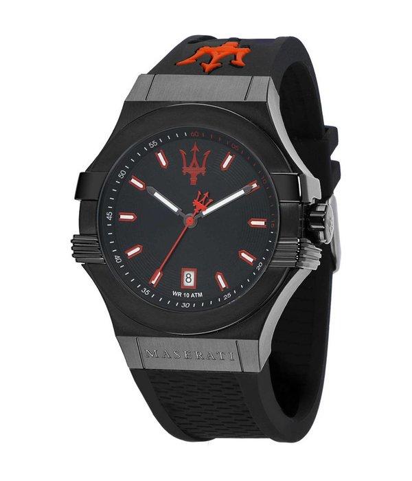 MASERATI  Potenza - R8851108020 - Montre homme - couleur noire - 45mm