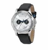 MASERATI  Circuito - R8871627005 - Montre - chronographe - cuir - argent - 46mm