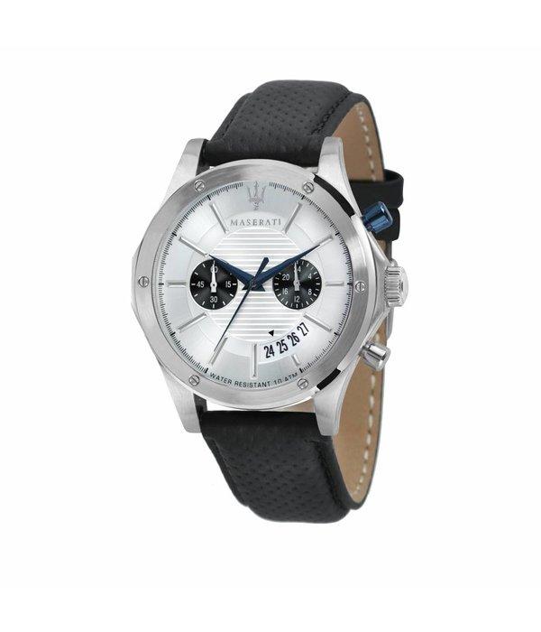 MASERATI  Circuito - R8871627005 - Uhr - Chronograph - Leder - silber - 46mm