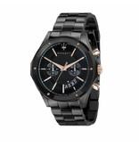 MASERATI  Circuito - R8873627001 - horloge - chronograaf - zwartkleurig - 44mm