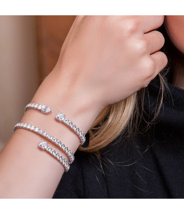 APM MONACO Zebulon - AB3329OX - Armband - Silber 925% - Zirkonium - M