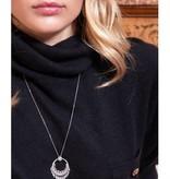 APM MONACO Les Cascades - AC3387OX - necklace - silver 925% - Crystals