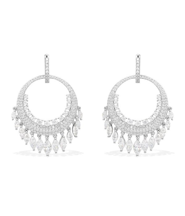 APM MONACO Les Cascades - AE9664OX - earrings - silver 925% - Crystals
