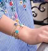 APM MONACO Valentine - AB3355XTUY - Bracelet - turquoise - gold