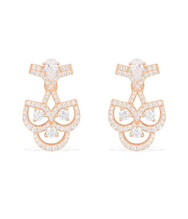APM MONACO Cashmere - RE9983OX - earrings - crystal - rosékleurig