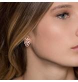 APM MONACO Cashmere - RE9983OX - boucles d'oreilles - cristal - rosékleurig