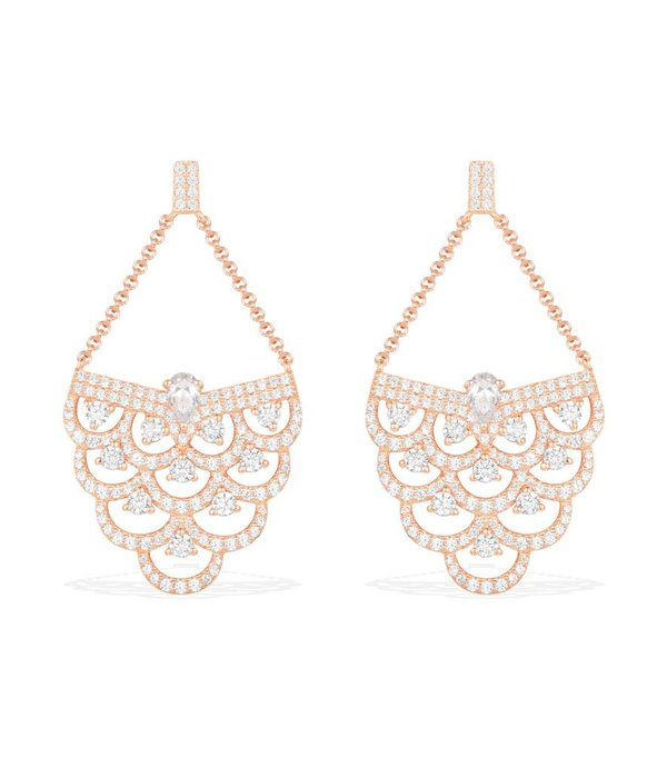 APM MONACO Cashmere - RE9982OX - boucles d'oreilles - cristal - rose coloré