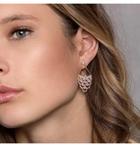 APM MONACO Cashmere - RE9982OX - earrings - crystal - rose colored