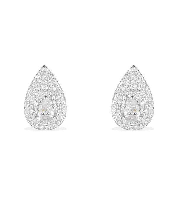 APM MONACO Luna - AE9890OX - oorhangers - kristallen - zilver 925%