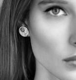 APM MONACO Luna - AE9886OX - earrings - crystal - silver 925%