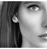 APM MONACO Luna - AE9886OX - boucles d'oreilles - cristal - argent 925%