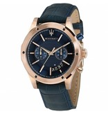 MASERATI  Circuito - R8871627002 - watch - chronograph - leather - rose color - 44mm