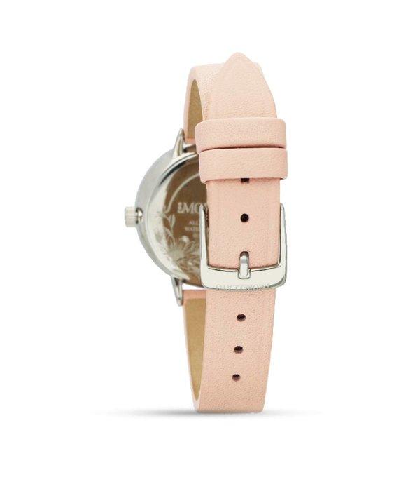 MORELLATO Ninfa - R0151141503 - dames horloge - leer - zilverkleurig - 30mm