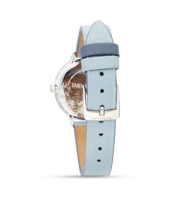 MORELLATO Ninfa - R0151141504 - dames horloge - leer - zilverkleurig - 30mm