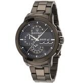 MASERATI  Ingegno R8873619001 - men's watch - chronograph - black colored - 45mm