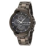 MASERATI  Ingegno R8873619001 - heren horloge - chronograaf - zwart kleurig - 45mm