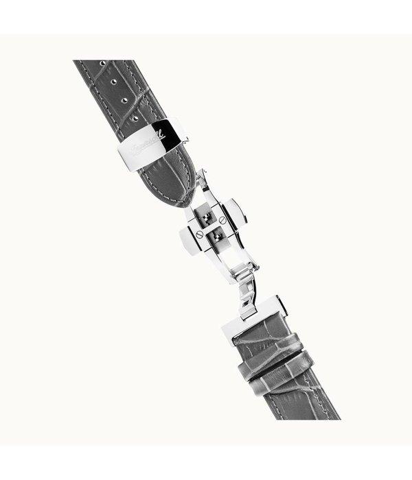 INGERSOLL I00402 The Herald - herenhorloge - automaat - zilverkleurig - 40mm