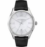 TRUSSARDI First R2451112003 - Men's watch - Leather - Silver - 43mm