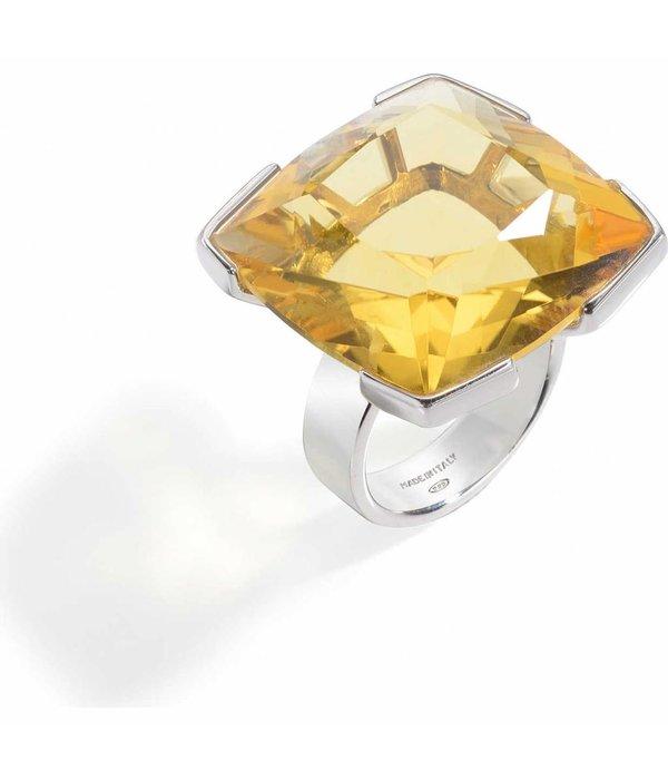 PIANEGONDA LUMINOSITE - FP008010 - RING - de couleur jaune - ARGENT 925%