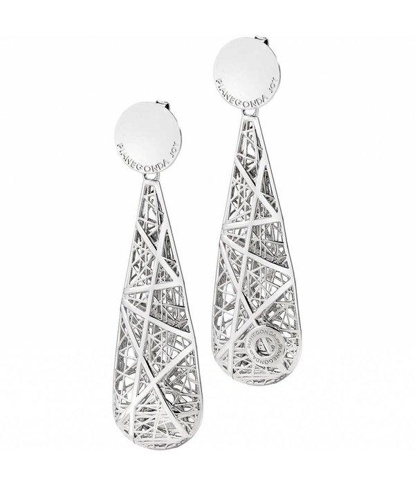PIANEGONDA Nest - FP015007 - Earrings - Silver Colored - Silver 925%