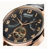 INGERSOLL The Hawley I04602 - herenhorloge - automaat - rosé kleurig - 44mm