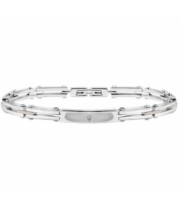 MASERATI  JM417AKV03 - bracelet - stainless steel - silver - 22cm