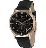 MASERATI  Ricordo R8871625004 - Montre pour homme - chronographe - rosékleurig - 42mm