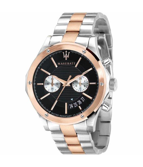 MASERATI  Circuito R8873627004 - Montre pour homme - chronographe - rosé et argent - 44mm
