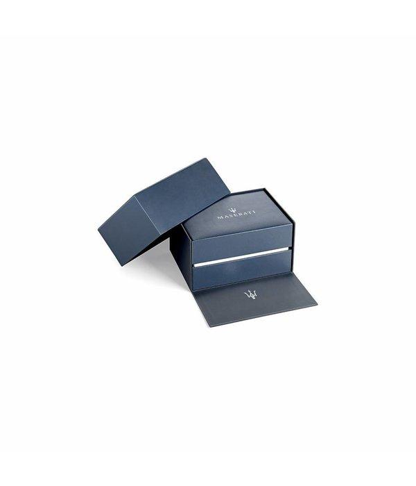 MASERATI  Circuito R8873627004 - Herrenuhr - Chronograph - rosé und silber - 44mm